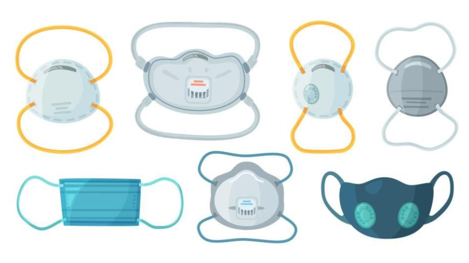 Different Types Of Face Masks- SAFETY IS IMPORTANT